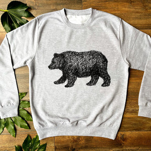 walking bear jumper