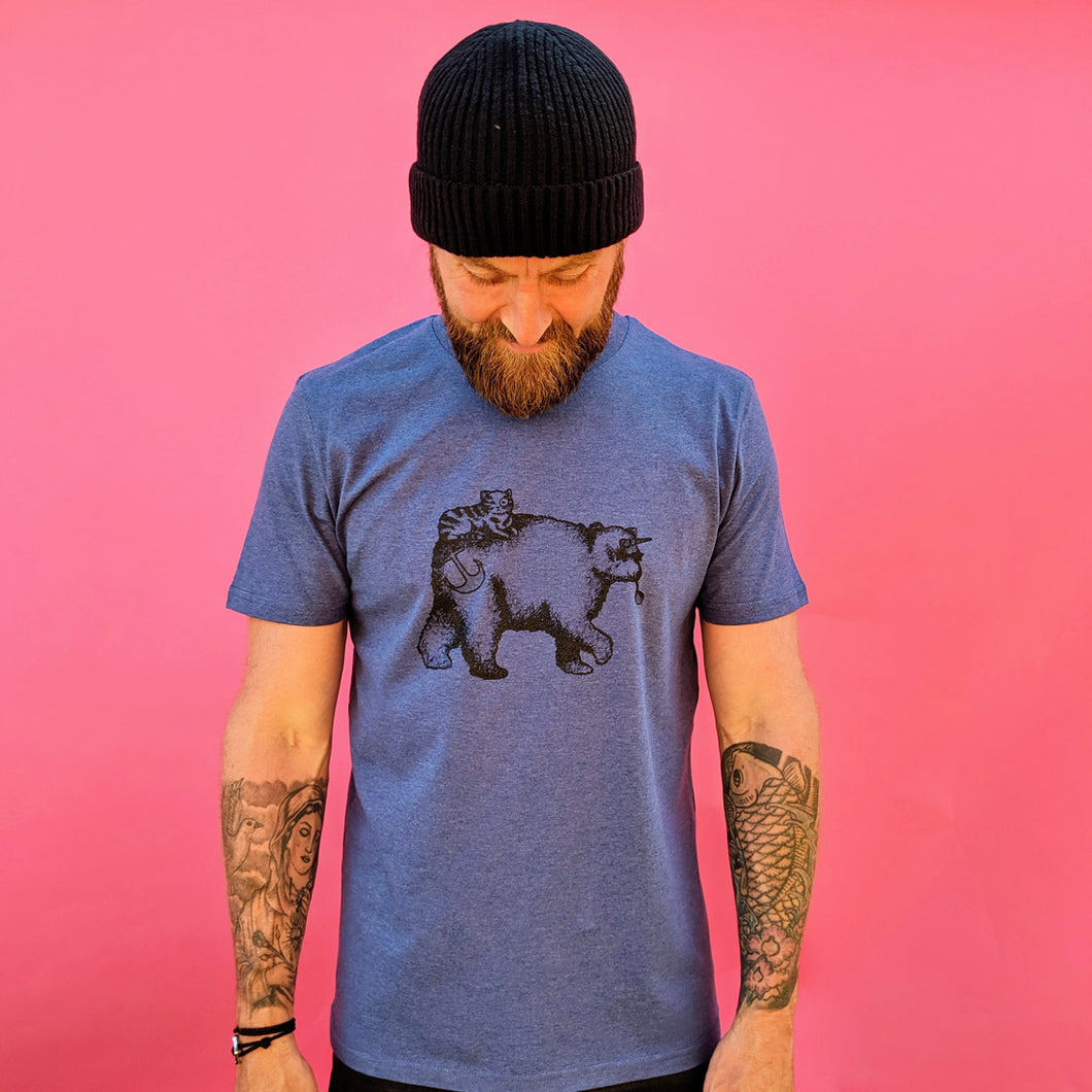 'Bear & Cat Unicorn' T-Shirt