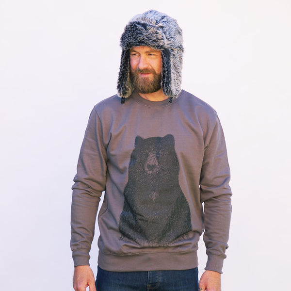 BIG BEAR CHARCOAL JUMPER