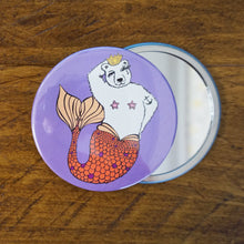 Brian Queen of Sea Pocket Mirror
