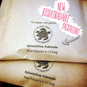 Biodegradable paper mail bags