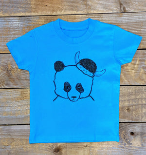 Panda warrior Baby/Kids T-Shirt