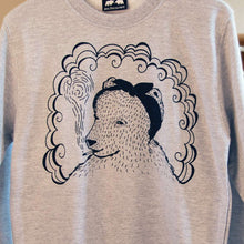 Bear smoking jumper
