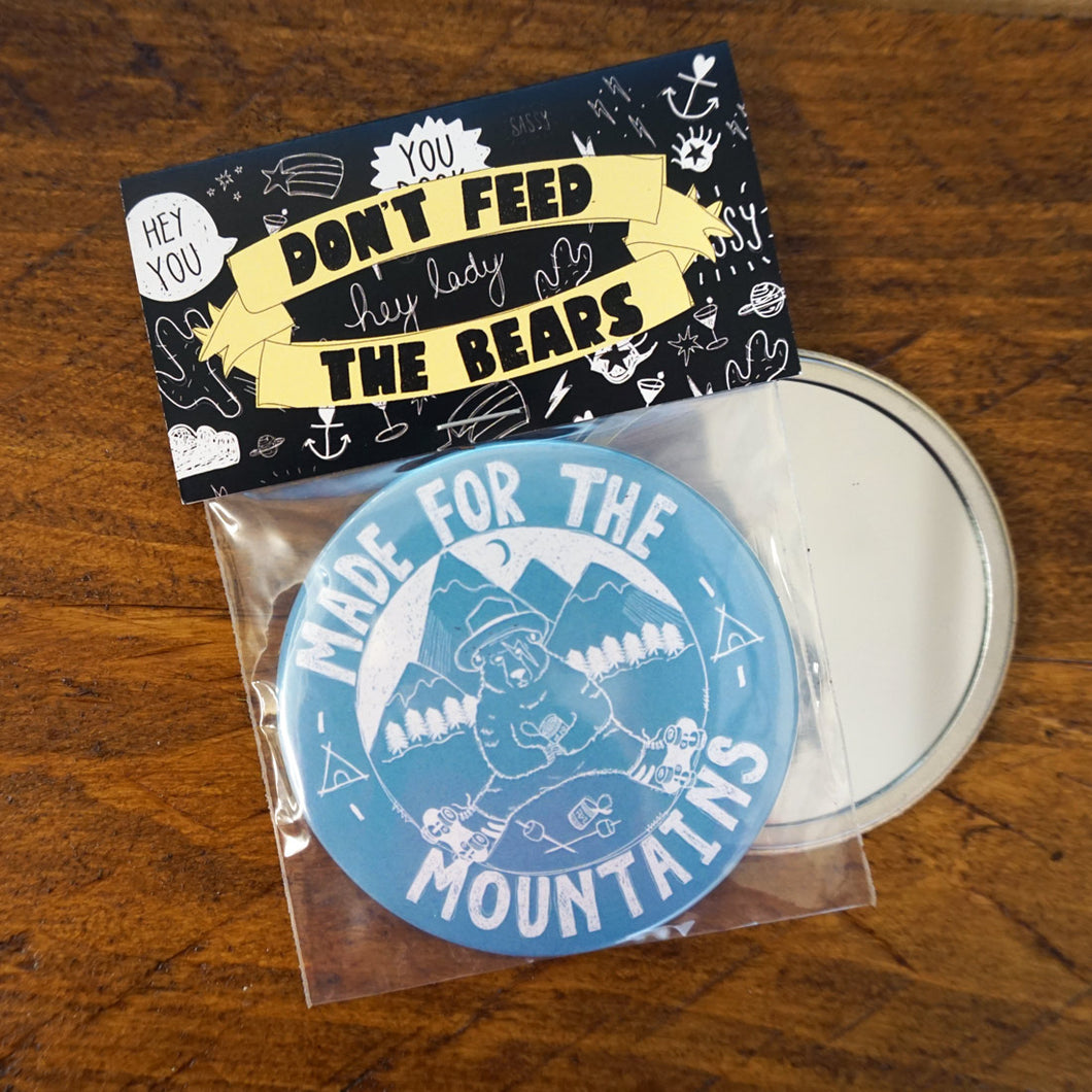 Made for Mountains Pocket Mirror
