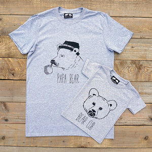 Two Bears T-Shirt Set
