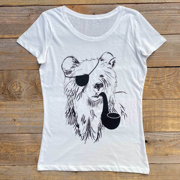 PIRATE BEAR WOMEN'S T-SHIRT