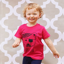 pirate cub t-shirt pink