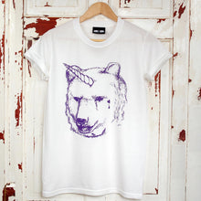 unicorn bear t-shirt