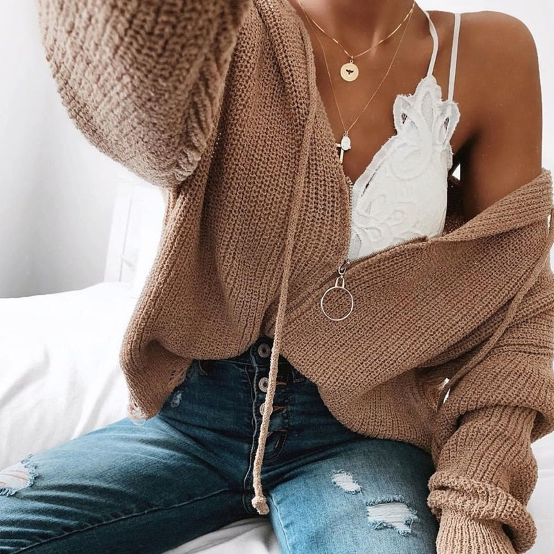 Amina Knitted Sweater