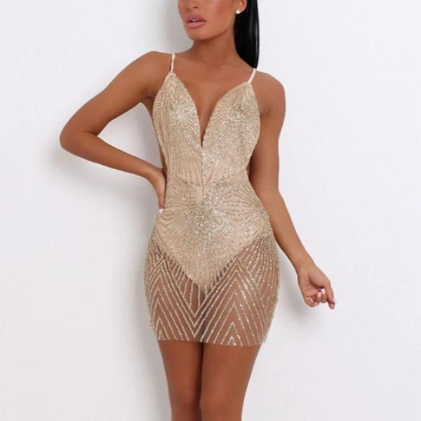 Terra Sequined Dress