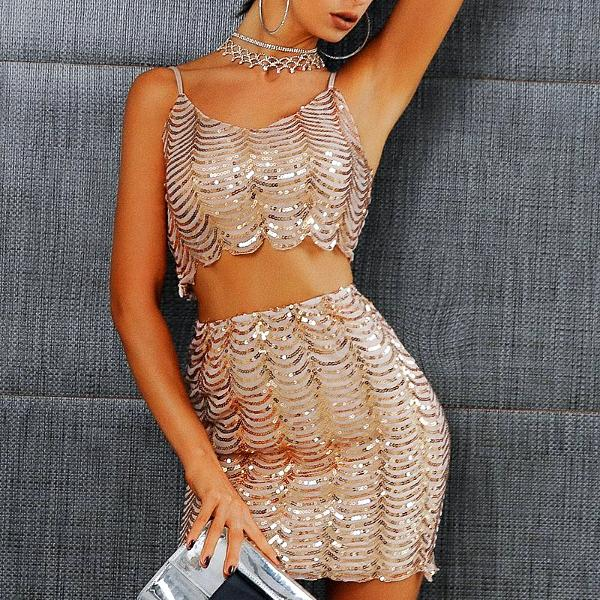 Sienna Sequin Set