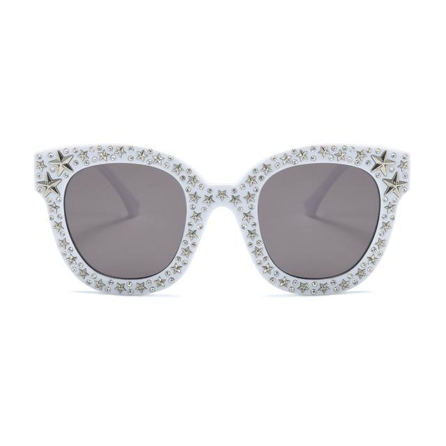 Crystal Square Sunglass