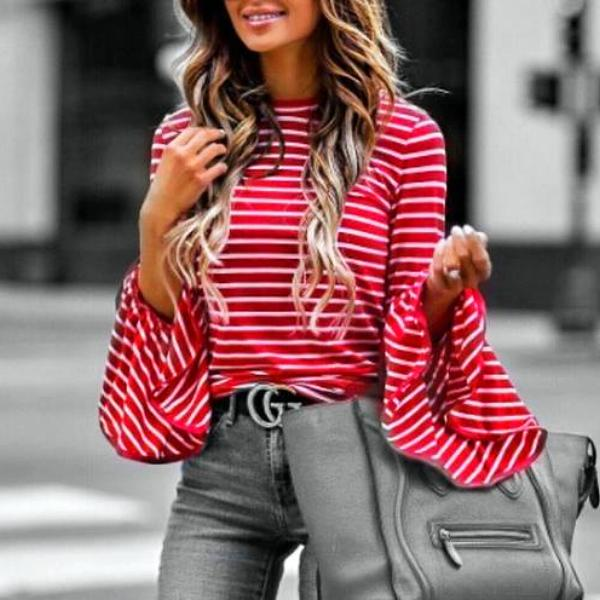 Red Flare Sweater