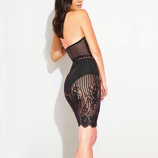 Angelina Halter Dress