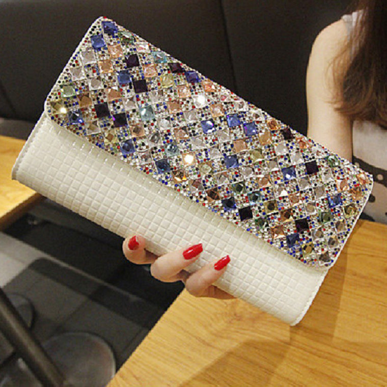 Diamond Design Clutch
