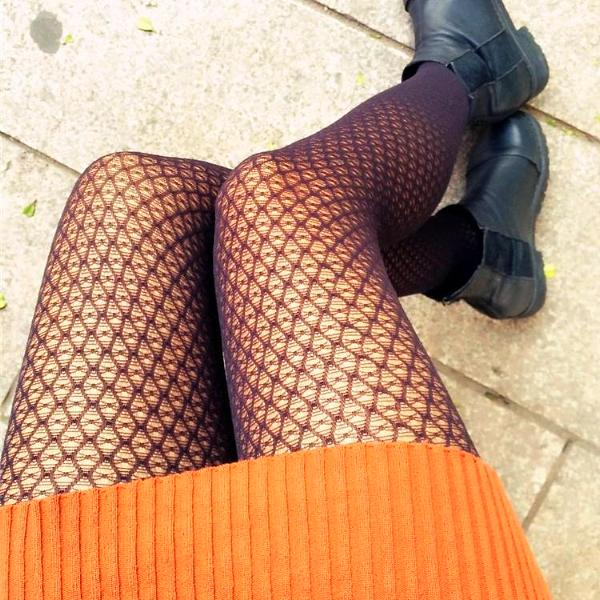 Lace Omen Tights