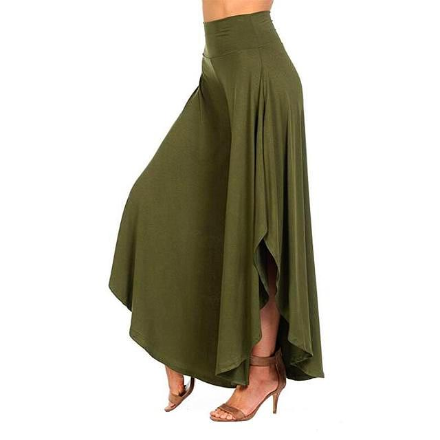 Ruffles Wide Pants