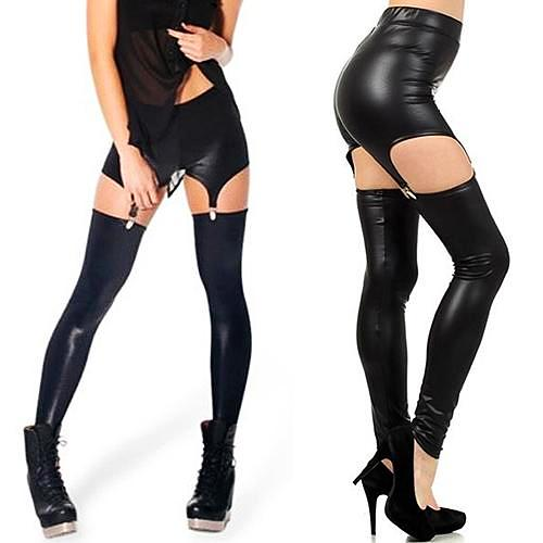 Luna Leather Leggings