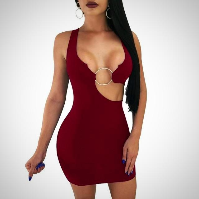 Ragel Bodycon Dress
