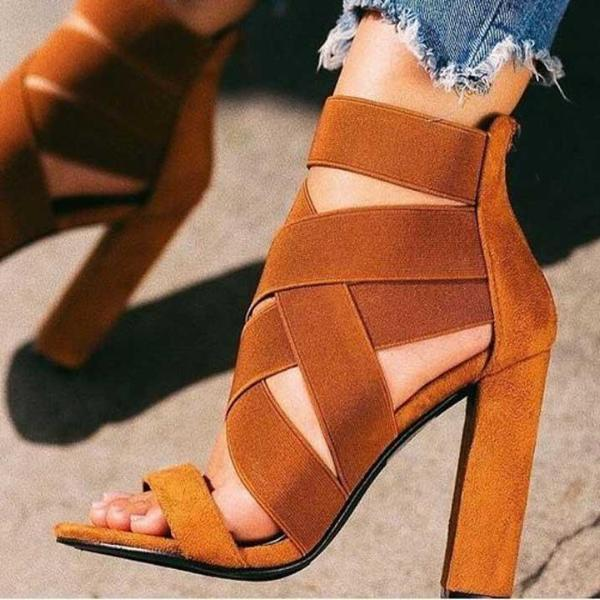 Ankle-Wrap Shoes