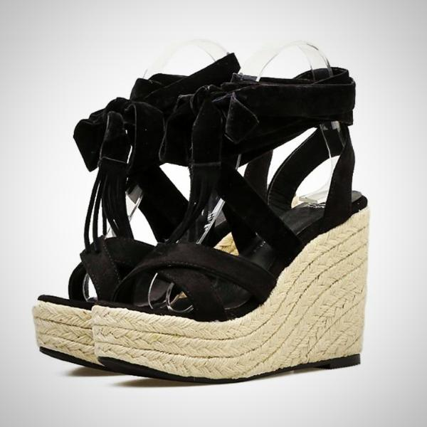 Alice Strap Wedge