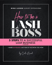 How to be a Lash Boss E-Book