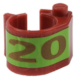 E-Z Markers for electronic rings