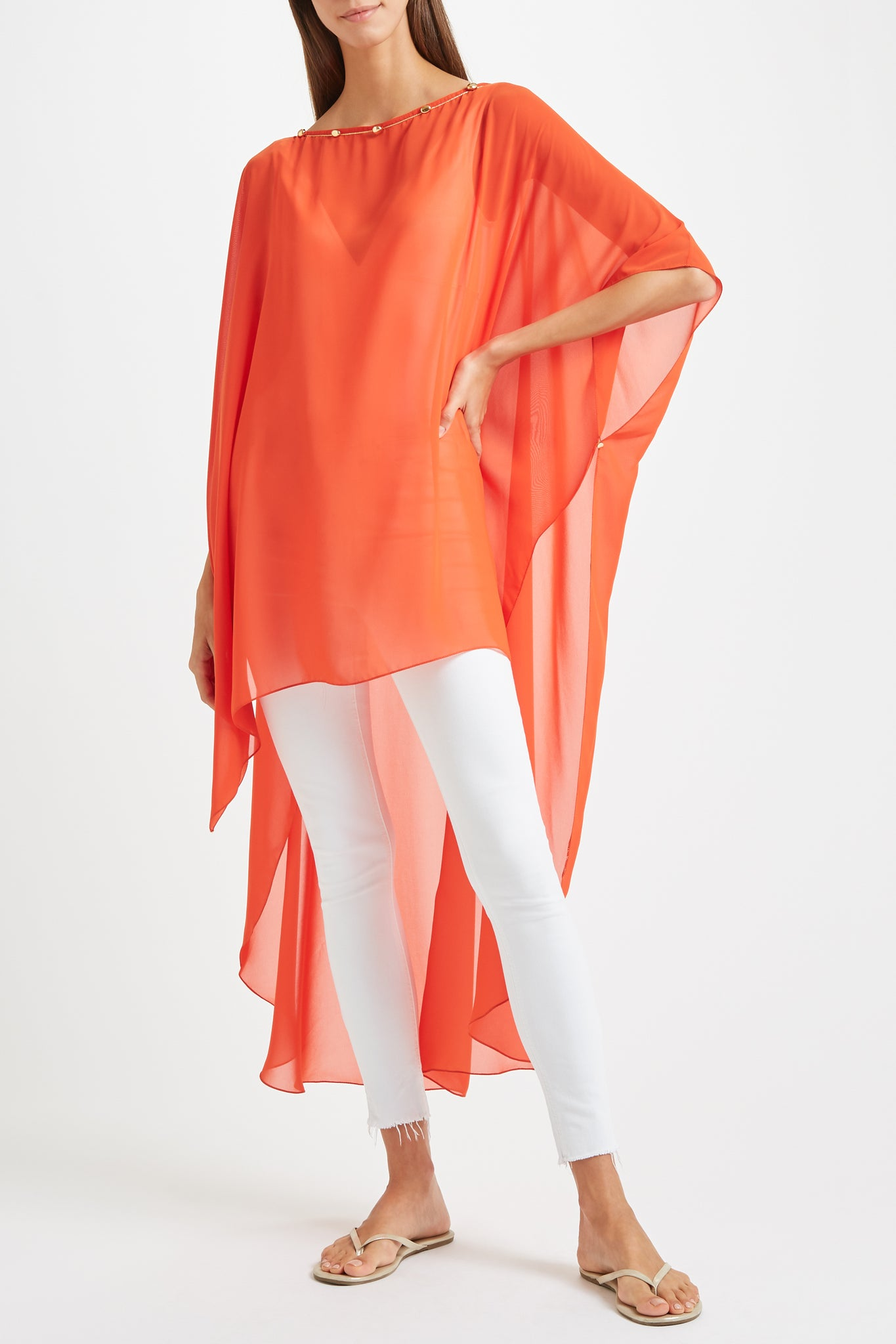 Kalmar Naima Cover Up in orange
