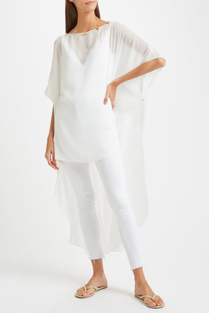 Kalmar Naima Cover up in white