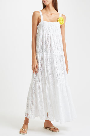 Kalmar Luna Dress in White