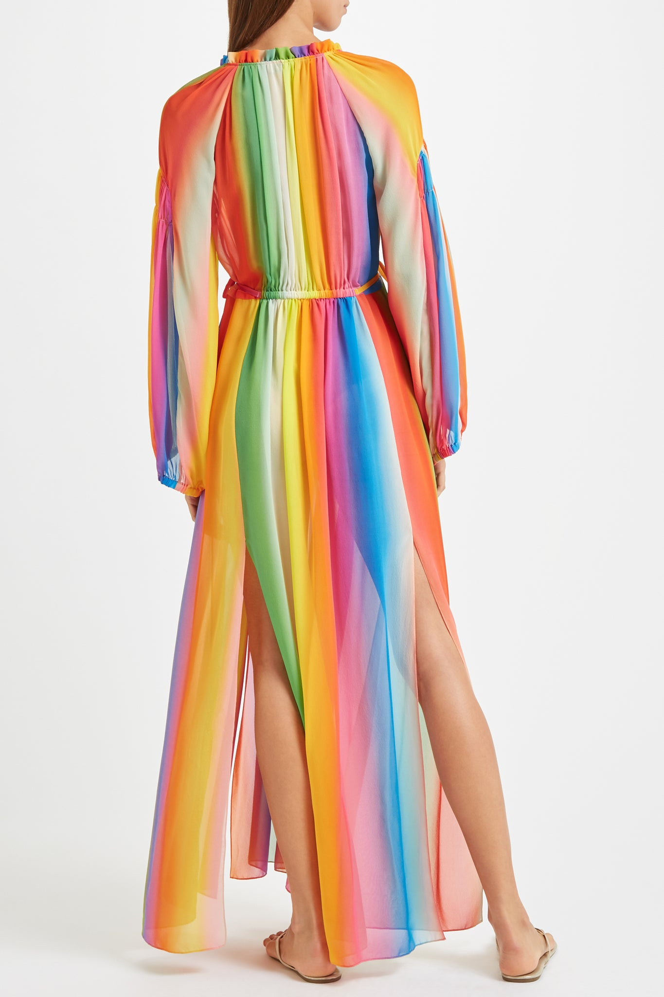 Kalmar Nazia Dress in galaxy ombre stripe