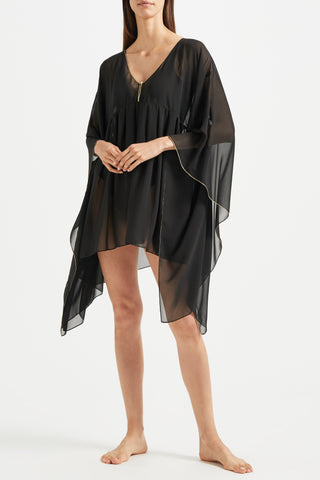 Sonali Kaftan with Gold Trim - Kalmar