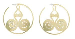 Goddess Earrings - Kalmar