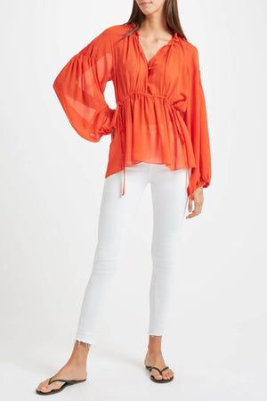 Kalmar Asia Blouse in orange