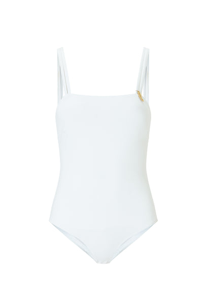 Sienna One Piece White swimsuit luxury by Kalmar