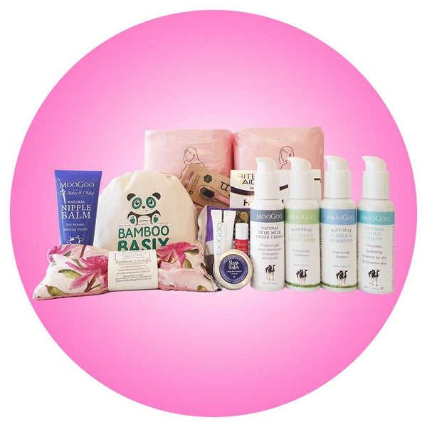 Birth Essentials Pack + FREE tote bag + FREE SHIPPING **IN STOCK NOW** - Bamboo Basix