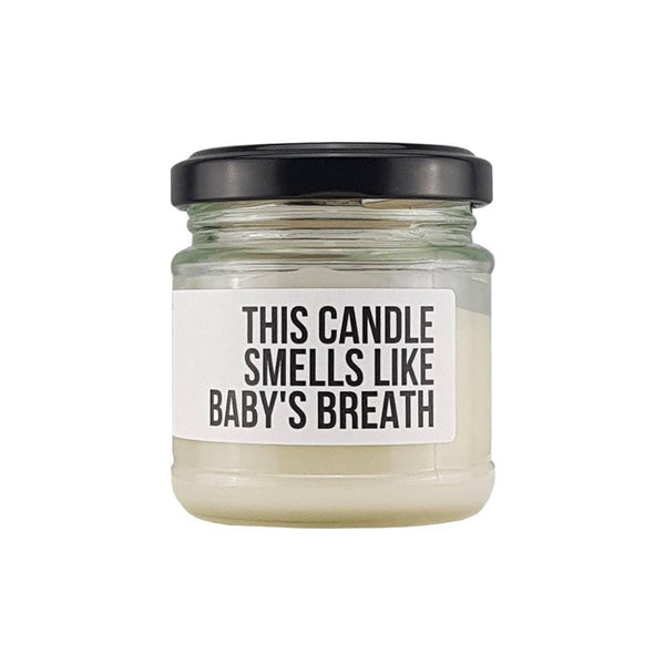 Limited Edition Mini Candles - Motherhood & Baby's Breath - Bamboo Basix