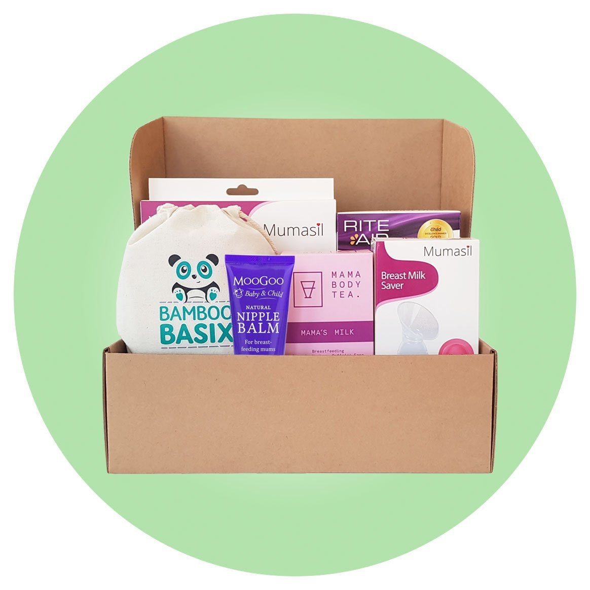 Nursing Necessities Gift Set ***IN STOCK NOW*** - Bamboo Basix