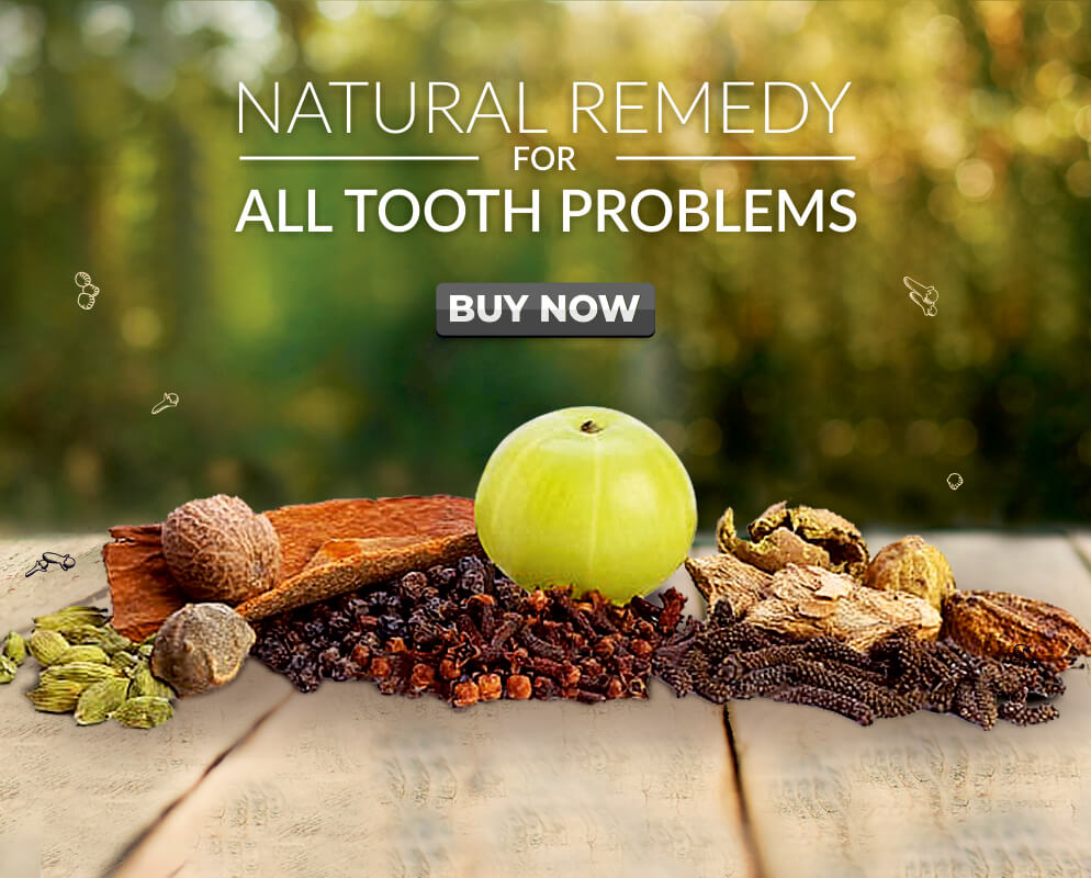 Nature to Market - Herbal Tooth Powder - All Tooth Problems