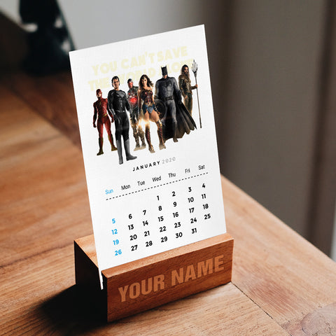 DC Comics Desk Calendar