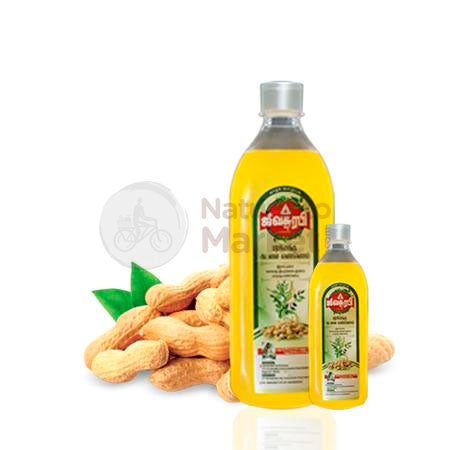 Marachekku Groundnut Oil - Zen Herbal