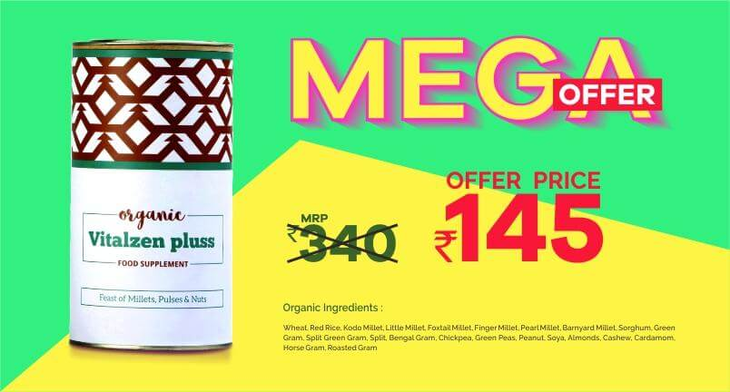 Nature to Market - mega offer on vitalzen pluss get it for 145rs instead of 340rs