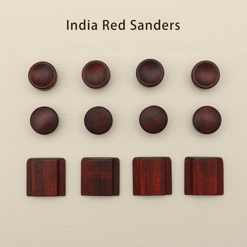 HOT SHOE COVERS &  SOFT RELEASE BUTTONS (PREMIUM WOOD)