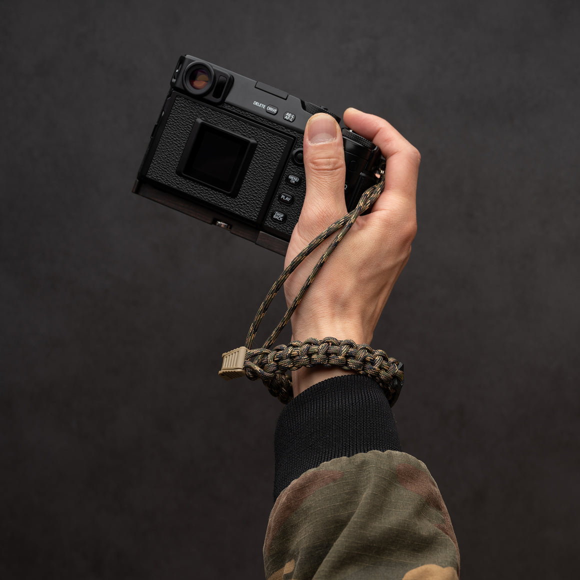 CAMERA WRIST STRAP-PARACORD ROPE
