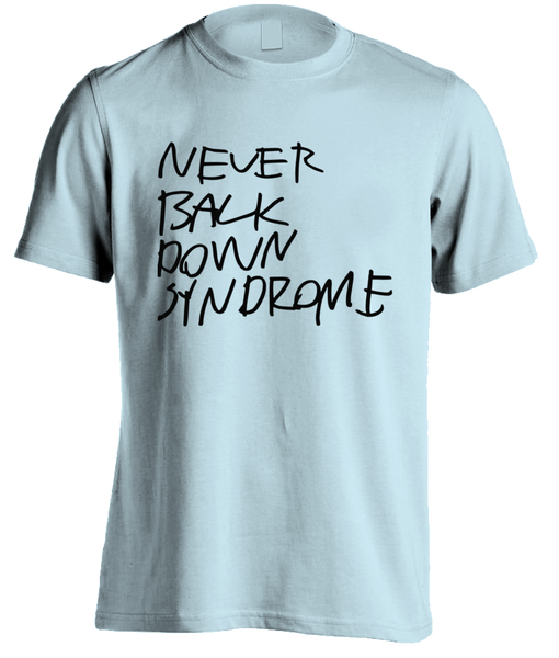 T-Shirt/ Herre / Never Back Down – Syndrome