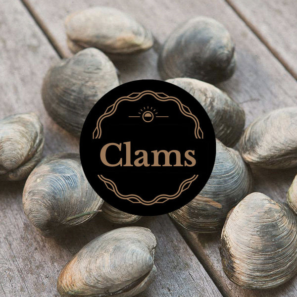 Dorset Clams: 500g