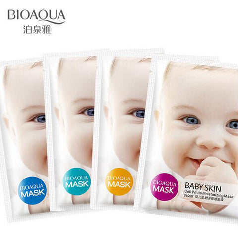 Baby Skin Face Mask - Hyaluronic Acid (2-12)