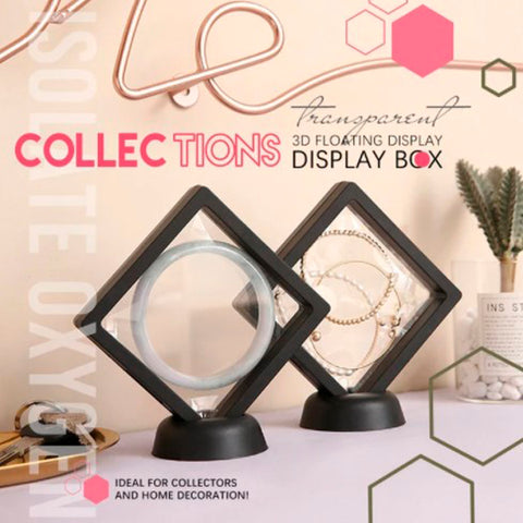 3D Floating Display Frame for Collections 4