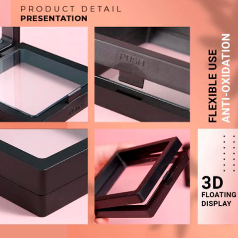 3D Floating Display Frame for Collections 7