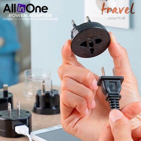 All in one Travel Detachable Power Adapter 3